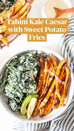 Vegan Dinner Recipes, Vegan Dinners, Whole Food Recipes, Vegetarian Recipes, Healthy Recipes, Healthy Dinner Meals, Healthy Vegan Meals, Vegan Sweet Potato Recipes, Vegan Bowl Recipes
