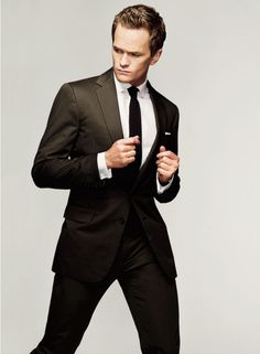 Neil Patrick Harris love him in a good suit! Cant wait for the start of HIMYM!!!