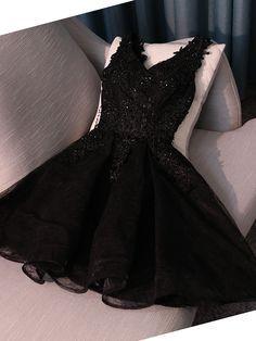 Vestido preto lindooooo!!!
