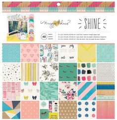 Crafts & Sewing Crate Paper Maggie Holmes Shine Paper Pack