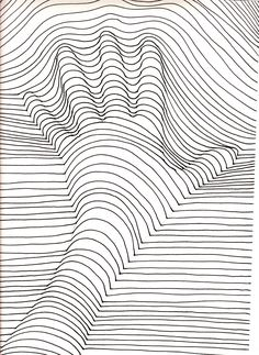 Pin for Later: 50 Printable Adult Coloring Pages That Will Make You Feel Like a Kid Again Get the coloring page: Hand lines Supplies Tutorial Art Drawing Illusion Kunst, Illusion Art, Printable Adult Coloring Pages, Free Coloring Pages, Colouring Pages For Adults, Coloring Books, Coloring Sheets, Op Art Lessons, Hand Lines