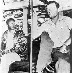 On Dec. 27, 1956: Morris Thomas, left, refused a Tallahassee bus driver's request to move to the back of the bus. Thomas lived in Midway, but was home on leave from the Navy. After a year of protests and boycotts, segregated seating on Tallahassee buses ends.