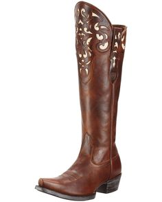 Women's Hacienda Boot - Vintage Caramel