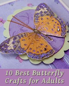 10 Best Butterfly Arts and Crafts for Adults