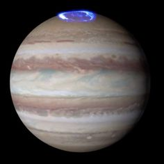 Jupiter's Auroras captured by the Hubble Telescope - astronomy