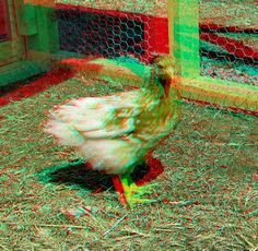 These pictures can be seen in by using red-cyan glasses. look better in large size Red Green, Red And Blue, 3d Foto, 3d Pictures, Luna Lovegood, Children Images, Girl Models, Photography, Painting