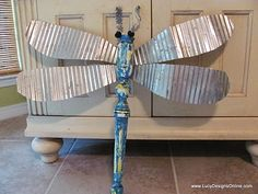 dragon fly - make yard ornaments? or decorations for children's hospital