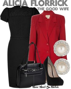 Inspired by Juliana Margulies as Alicia Florrick on The Good Wife.
