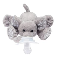 Paci-Plushies® make finding baby's pacifier a snap! If you have a pacifier loving baby you've probably been through the painful experience of frantically searching for your baby's pacifier while your