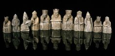 The Original Isle of Lewis Chess Pieces