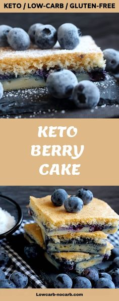 Super easy Keto Berry Coffee Cake soft and fluffy to go with your morning coffee. Low Carb Cake made with almond flour this keto Recipe video is perfect with any berries you have. Keto Friendly Desserts, Low Carb Desserts, Easter Recipes, Summer Recipes, Cake Recipes, Dessert Recipes, Berry Cake, Easy Homemade Recipes, No Sugar Foods