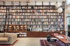Brooklyn Artist Loft, Library, New York, 2011, BWArchitects