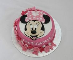 Dorty od Majky - Fotoalbum - Dětské dorty - Mickey a Minnie - 10.8.2014 325 Minnie Cake, Frozen Cake, Birthday Cake, Mini, Food, Decorating Cakes, Meet, Photograph Album, Birthday Cakes