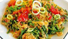 Surinaams eten – Bakkeljauw Kousenband