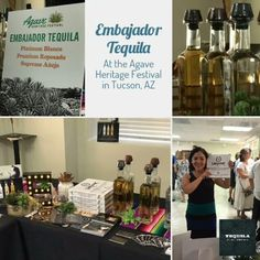 Embajador Tequila will be at the Agave Heritage Festival in Tucson through May 7    #Regram via @tequilaembajador