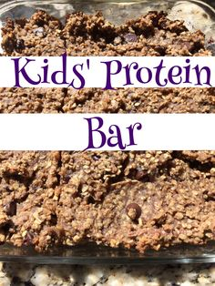 Kids' Protein bar | Sharing A to Z