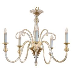 Murano Amber Glass Chandelier | From a unique collection of antique and modern chandeliers and pendants at https://www.1stdibs.com/furniture/lighting/chandeliers-pendant-lights/