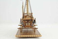 Photos ship model Chinese river junk of 19th century, details Junk Ship, Model Ships, Model Photos, 19th Century, Chinese, River, Boats, Creativity, Concept Ships