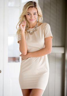 Low V Back Dress   Lookbook Store