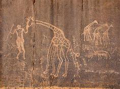 Free Image on Pixabay - Sahara, Tassili, Cave Paintings African History, African Art, Paleolithic Art, Kunst Der Aborigines, Cave Drawings, Art Premier, Ancient Mysteries, Human Art, Aboriginal Art