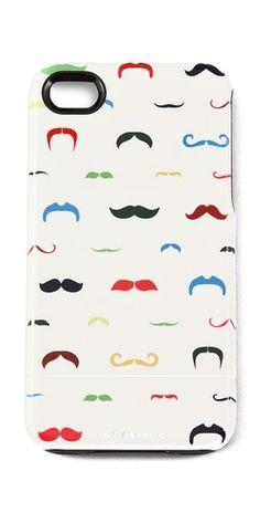 Mustache iPhone 4 Case - fun!