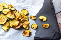 Healthy Courgette Crisps from MyNutriCounter
