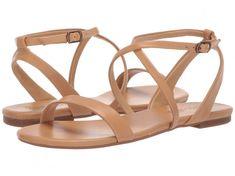 24 Wedding Sandals You Can Definitely Wear Again -  tan leather sandals for bride- Splendid Susannah sandal, $68, Zappos
