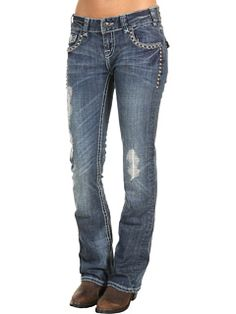 Love Rock N Roll Cowgirl jeans!
