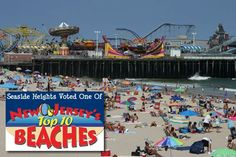 Seaside Heights Boardwalk NJ