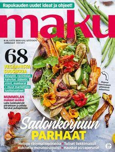 Kermainen kantarellipiirakka | Maku Feta, Chicken, Mascarpone, Cubs