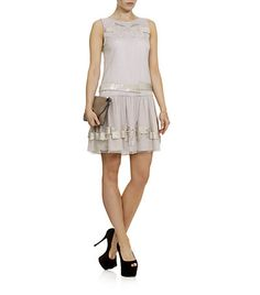 Red Valentino Sequin Bow Dress