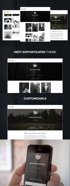 Next Sophisticated Tumblr Theme. Tumblr Themes. $16.00