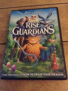 Children's Movie Rise of the Guardians DVD #riseoftheuardians, #movie, #kids, #ebay