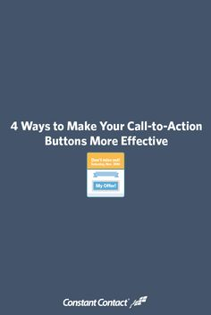 A persuasive, compelling call to action (CTA) can convince even the most hesitant prospect to convert, but there's more to it than just a tempting offer — you have to speak your customers' language. This blog post looks at 4 best practices for effective call-to-action buttons. By the end of this post, you'll have several actionable tips for creating more tempting CTAs that you can start using immediately in your campaigns.