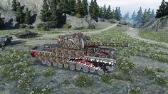 World of Tanks Type 5 Heavy (YodaSchlumpf Skin) 10432 DMG Kolobanov's 15...