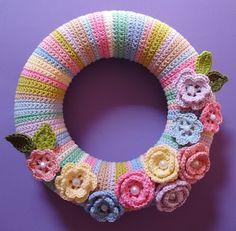 Coroa em crochet