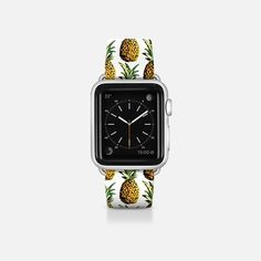 Tropical Pineapple Pattern Apple Watch Band by Organic Saturation | Casetify Get $10 off using code: 53ZPEA
