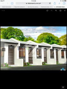 Apartment Projects, Dream Apartment, Apartment Design, Tiny House Plans Free, Row House Design, Duplex Floor Plans, Modern Townhouse, Cheap Houses, Concept Architecture