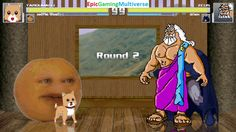 Zeus The God Of Thunder And Batman VS Taromaru The Dog & Annoying Orange In A MUGEN Match / Battle This video showcases Gameplay of The Annoying Orange And Taromaru The Dog From The Gakkou Gurashi! Series VS Zeus The God Of Thunder From Hercules The Animated Series And Batman The Superhero In A MUGEN Match / Battle / Fight