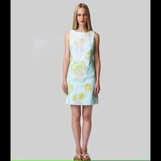 Lilly Pulitzer Originals In the Slim Worth Dress This is a size 4, but I'm looking for a size 8! Lilly Pulitzer Dresses Mini
