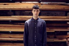 Winter 2014 - Collections Chef Jackets, Button Down Shirt, Men Casual, Shirt Dress, Winter, Mens Tops, Shirts, Journal, Collections