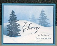 So Sorry by Broom - Cards and Paper Crafts at Splitcoaststampers