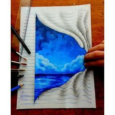 There's a whole world of experiences waiting for you if you only dare to turn a new page.   Community Post: 16 Stunning 3D Drawings That Will Trick Your Brain