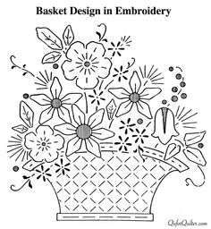 Housewifely Wisdom  Embroidery Patterns From 1920s Newspapers | Q is for Quilter | Bloglovin