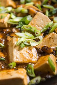 Mapo tofu is a justly popular menu item in many Chinese restaurants. It is a quickly cooked dish of braised tofu with minced pork (sometimes beef) in a bracing spicy sauce made with fermented black beans and fermented broad bean paste, along with hot red pepper and Sichuan pepper. This meatless version with fresh shiitake mushrooms is completely satisfying, and surprisingly easy to make. (Photo: Evan Sung for NYT)