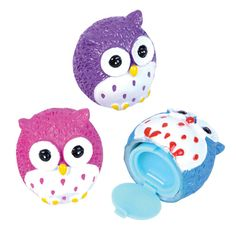 Owl Lip Gloss. Makes a great gift for your Origami Owl Owlettes. $2.99 each, $24.99 per dozen. http://www.partypalooza.com/Merchant2/merchant.mvc?Screen=PRODProduct_Code=OwlLipGloss