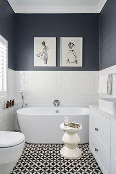 Beauty Cottage Bathroom Design – Home Design Cottage Bathroom Design Ideas, Bathroom Design Small, Bathroom Interior Design, Bathroom Inspiration, Bathroom Ideas, Shower Ideas, Bathroom Wallpaper Modern, Modern Bathroom, Modern Toilet