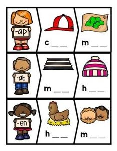Centers and no prep printables for short vowel, CVC words are just what you need for your beginning and struggling readers! Help students build confidence in their decoding abilities with repeated practice using matching picture/word mats, puzzles, word sorts, spelling words with letters and more! Great hands on activities for literacy stations. #ElementaryReading #RTI #LiteracyStations #Vowels #ShortVowels #PhonemicAwareness #EmergentReaders #Phonics Rhyming Activities, Hands On Activities, Spelling Words, Cvc Words, Literacy Stations, Literacy Centers, Reading Tutoring, Word Sorts, Struggling Readers