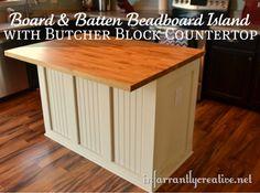 Butcher Block Countertop