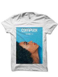 Solange Complex Cover T shirt - Solange Complex Cover Shirt - Solange ComplexDesigns - Solange Knowles Shirts - Photo T-Shirts HL0023